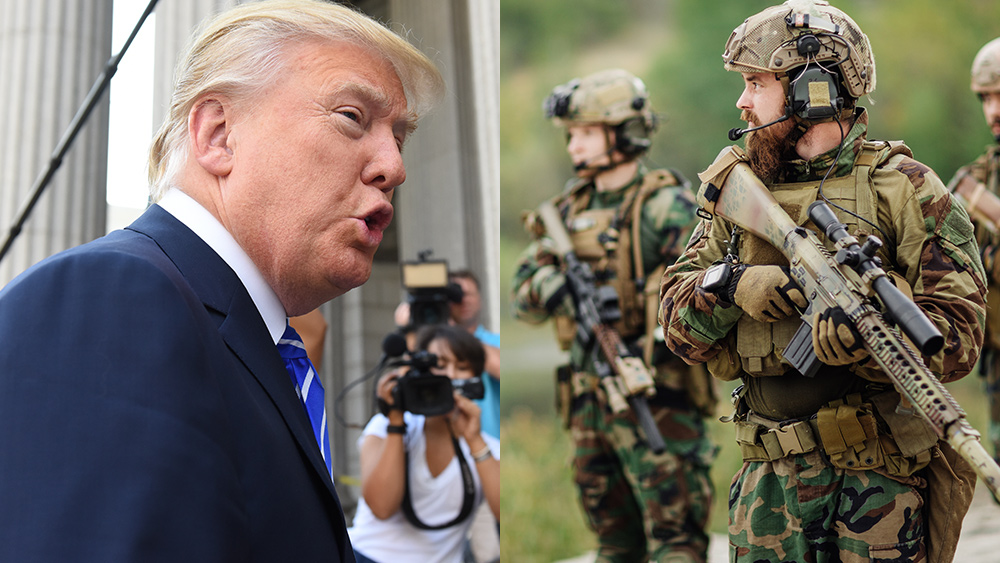 Image: PREPARE FOR WAR: Trump activates one million military reservists as nation prepares for mass combat casualties