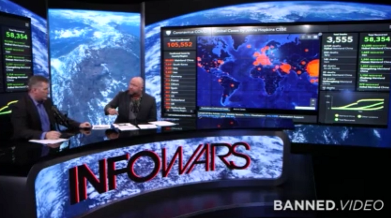 Image: SPECIAL REPORT: Mike Adams joins Alex Jones to reveal how coronavirus is an engineered weapon to destroy the Western world