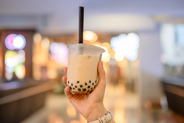 Too much of a good thing: Teenager's X-ray reveals 100 bubble tea pearls in her ABDOMEN, report confused doctors