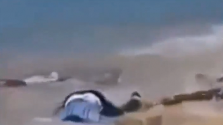 Dead bodies litter the beaches as Ecuador sees explosion in fatalities from the coronavirus - VIDEO