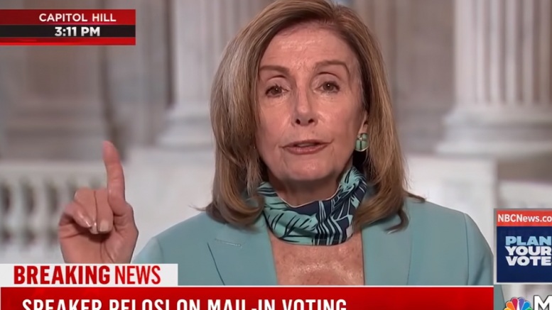 "Democrats essentially CONCEDE the election: Nancy Pelosi demands ""no debates"" as Democrats face the truth that Joe Biden is a walking Alzheimer's patient who belongs in a nursing home"