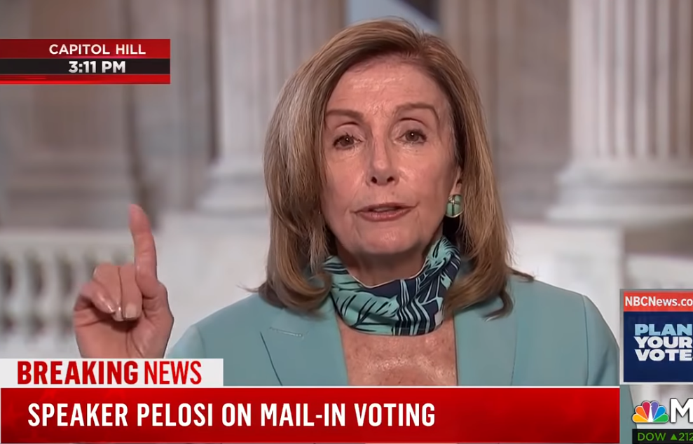 "Image: Democrats essentially CONCEDE the election: Nancy Pelosi demands ""no debates"" as Democrats face the truth that Joe Biden is a walking Alzheimer's patient who belongs in a nursing home"