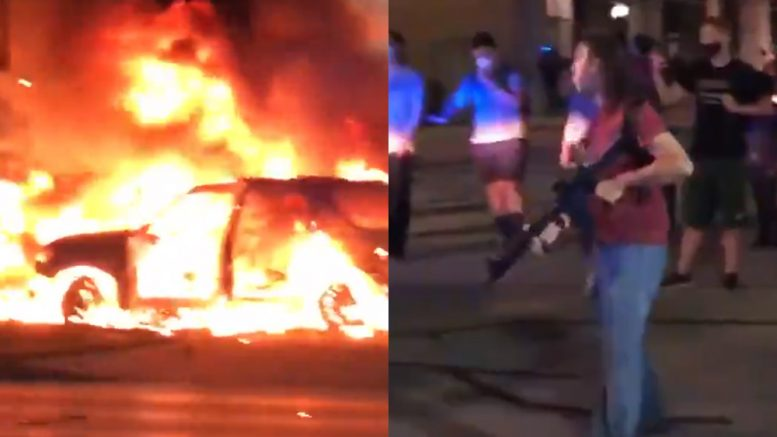 ENOUGH! It's time for law enforcement to begin SHOOTING violent terrorists and rioters who are trying to burn America to the ground