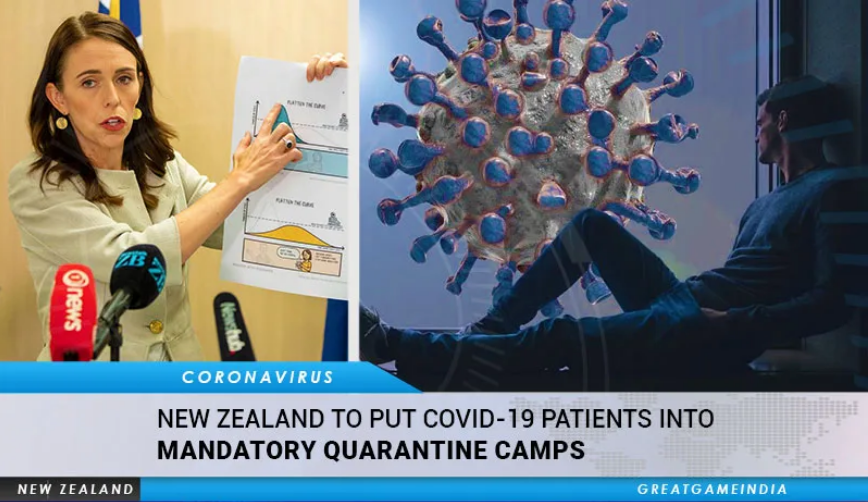 """Image: MANDATORY """"quarantine camps"""" were just rolled out in New Zealand, a globalist testing ground for the mass extermination of humanity"""