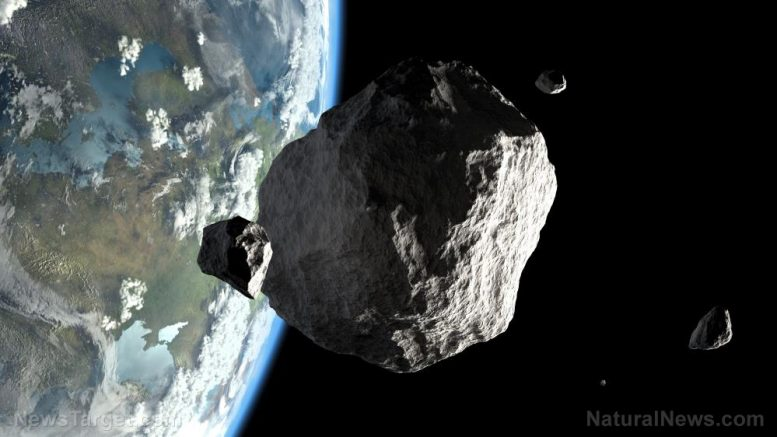 NASA discovered 5 asteroids just 2 weeks before they flew past Earth