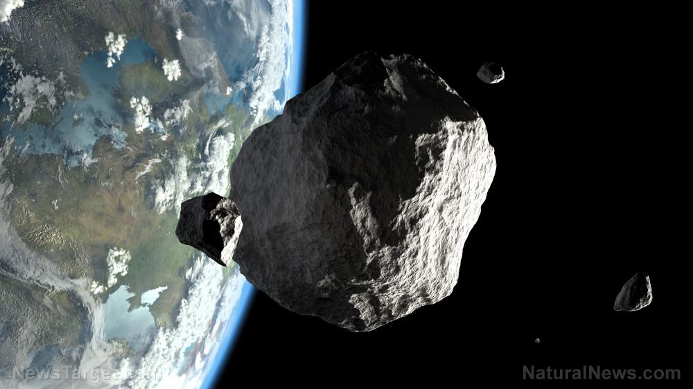 Image: NASA discovered 5 asteroids just 2 weeks before they flew past Earth