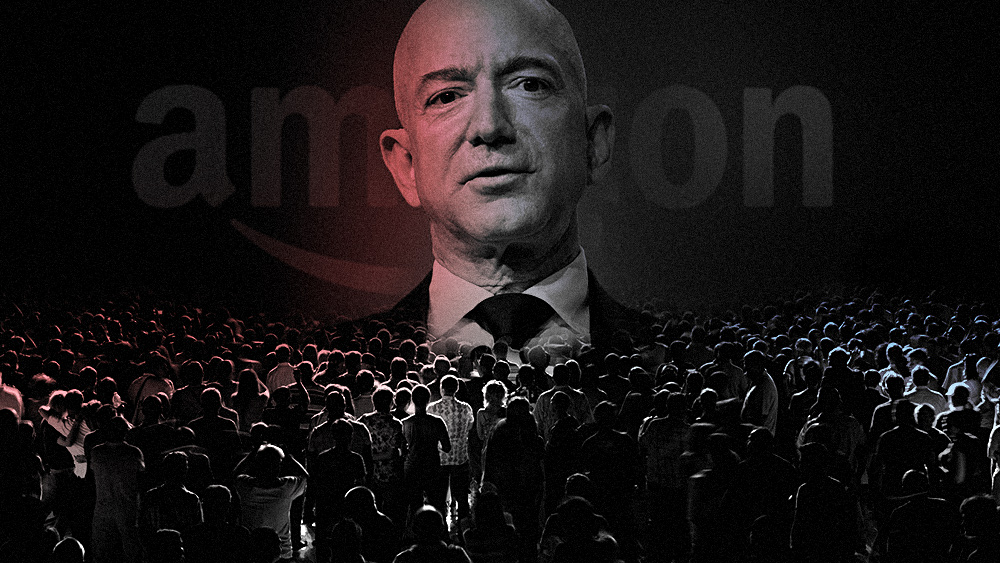 Image: Jeff Bezos caught trying to hire SPIES to surveil Amazon, Whole Foods employees