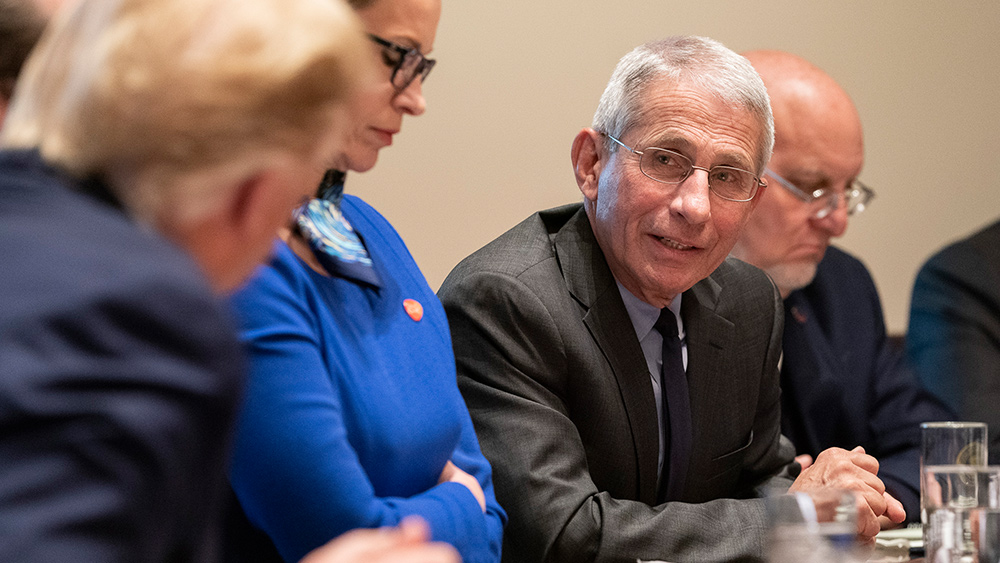 Image: Fauci wants to expand and empower the corrupt WHO that abused its power to protect communist China's bioweapons program