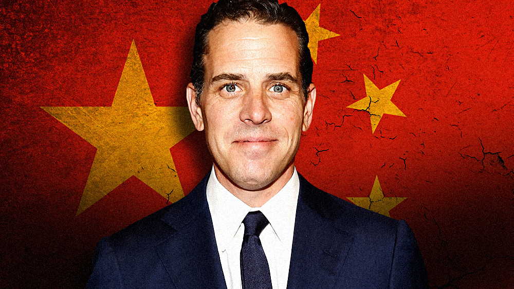 Image: TREASON: Emails from Hunter Biden associate indicate deal with former VP's son to sell strategic U.S. manufacturer to Chinese government-linked firm
