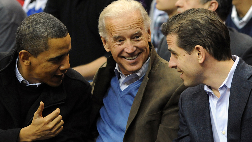 Image: Republican senators reveal Hunter Biden even more intertwined with Russia, China than previously known