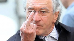 TIME TO HEAL? Robert De Niro appears to call for ethnic cleansing genocide against all Trump supporters