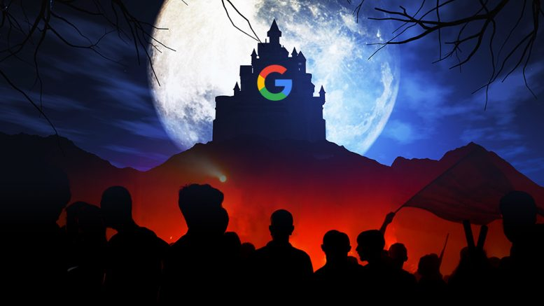 Google has a financial interest to push the pandemic and the covid-19 vaccine experiments