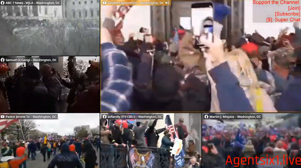 Image: Marxist sympathizer media using Capitol Building breach as an excuse to deplatform conservatives from all Internet services