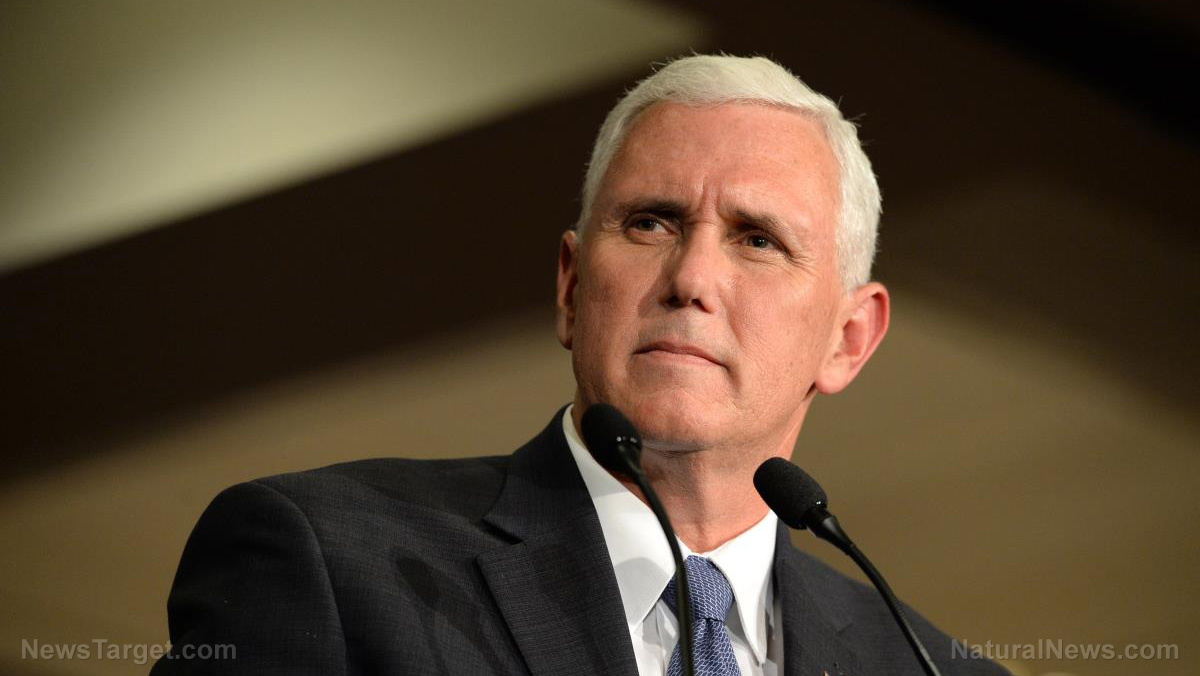 Image: Pence was the mole all along who betrayed America in the final hour