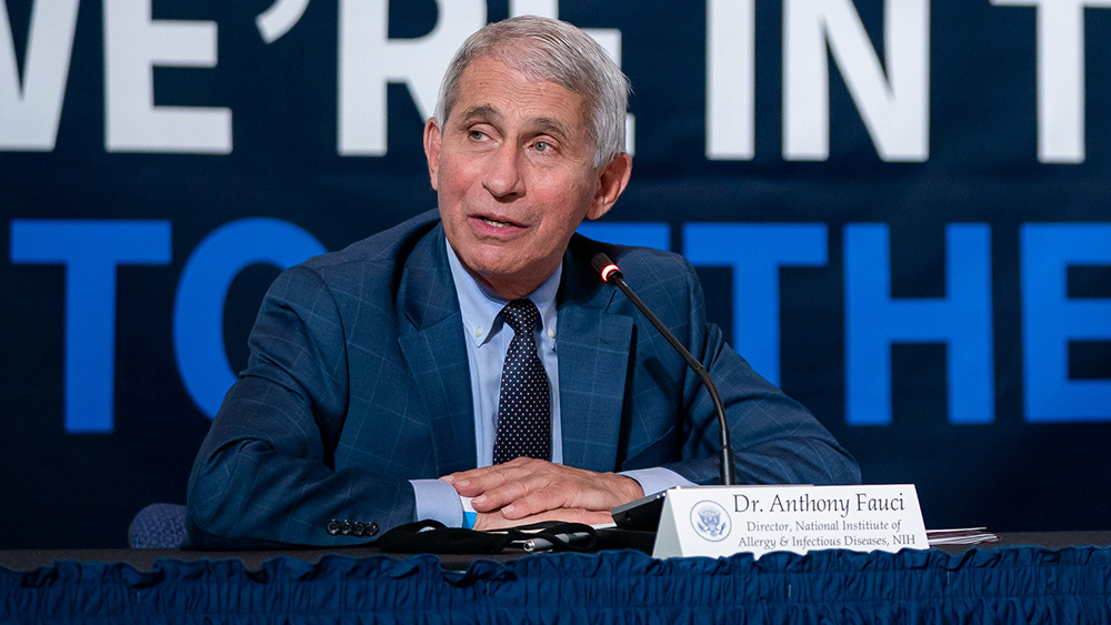 Image: COLLUSION: Emails indicate Fauci and others bent to China's confidentiality rules after January 2020 WHO study on COVID-19 spread