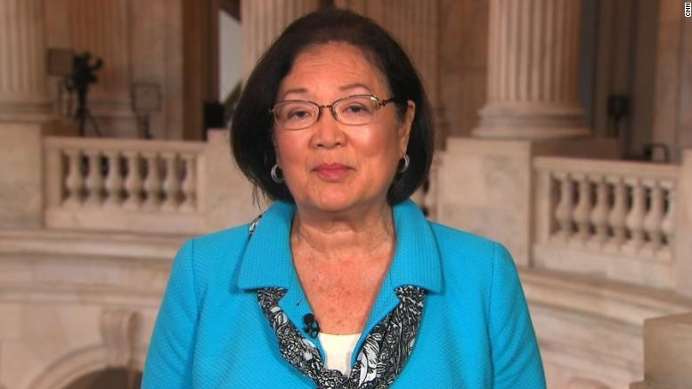 Disgusting left-wing BIGOT Sen. Mazie Hirono calls for total ban on white people in Biden's cabinet..
