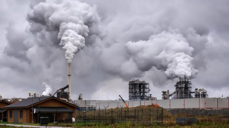Same liberals that said herbicides can't make you gay now claim pollution can shrink your penis