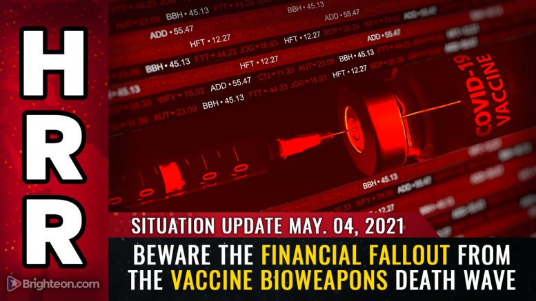 Beware the financial FALLOUT from the vaccine bioweapons death wave..