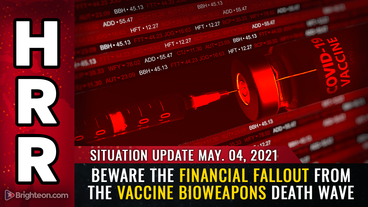 Image: Beware the financial FALLOUT from the vaccine bioweapons death wave… collapse of tax revenues, pensions, real estate values and the dollar all inevitable