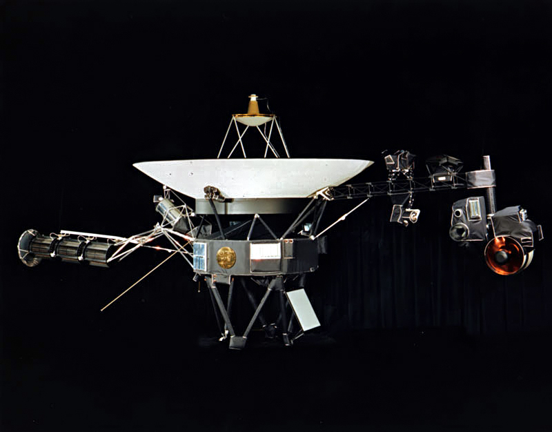 """Image: NASA's Voyager 1 discovers mysterious """"hum"""" outside the solar system"""
