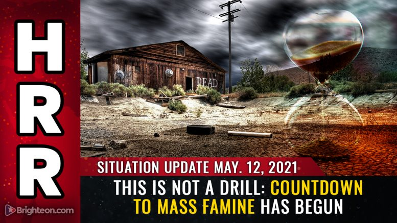 This is NOT a drill: Countdown to mass FAMINE has begun, and people you know will starve and die