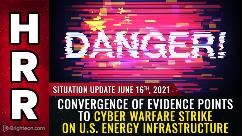 LIGHTS OUT: Cyber strike against America's power grid and energy infrastructure seeks to take down the nation and sow chaos so that bad actors can cover their tracks