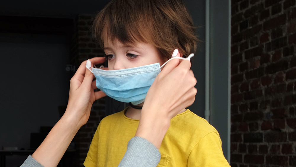 Image: STUDY: Masks are exposing children to a horrifying array of deadly pathogens