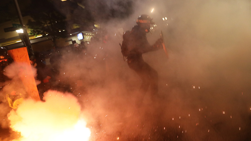 Image: South Africa riots shutter oil refinery and burn power facility, a reminder of what's coming to America following engineered food scarcity and financial turmoil