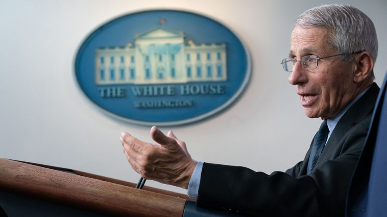Fauci considering booster shots every FIVE months for all Americans..