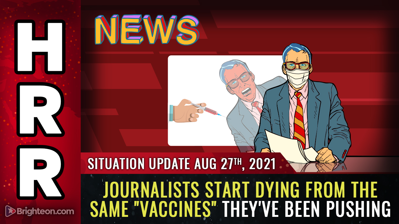 """Image: Japan discovers """"magnetic"""" substance in Pfizer covid vaccines; journalists start DYING from the vax they pushed"""