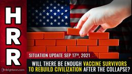 After the GENOCIDE: Will there be enough VACCINE SURVIVORS to rebuild civilization?