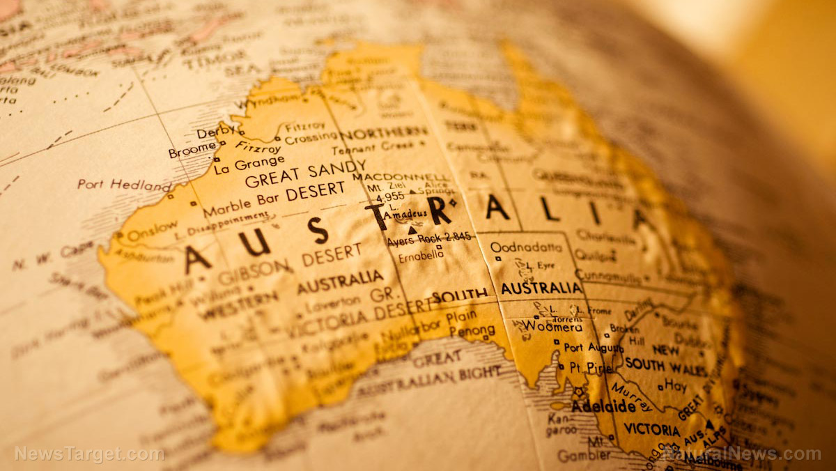 Image: THE TYRANNY NEVER ENDS: Australia extends COVID-19 emergency powers for three months