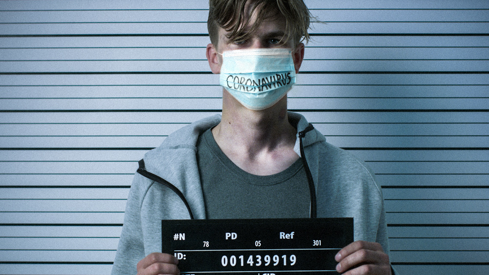 Image: Campus fascism: Colorado State University threatens unvaccinated students with ARREST if they are seen on school property